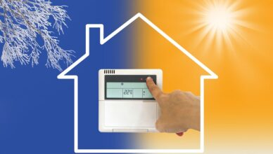 Heating And Cooling Air Conditioner