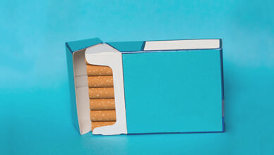 blank cigarettes boxes
