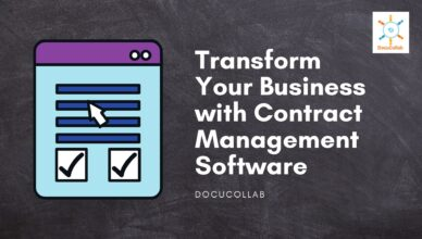 Contract Management System Software