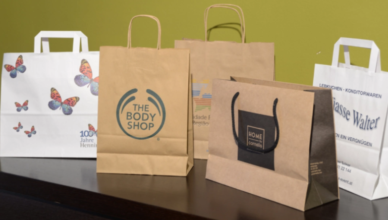 kraft bags with handles-feature image