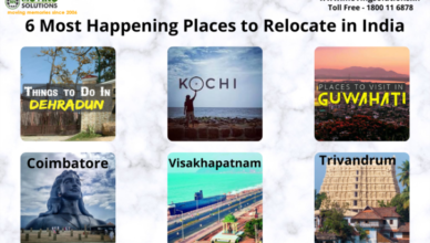 6 Most Happening Places to Relocate in India